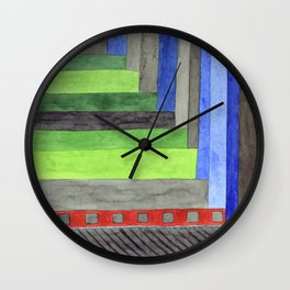 The Red Threshold  Wall Clock