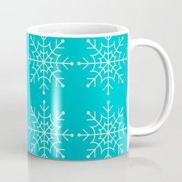 Winter/Christmas - Snow Crystals V.3 Coffee Mug