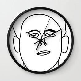 Jackson Self Portrait Wall Clock