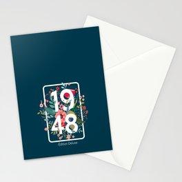 Cadeau Anniversaire Année de Naissance, Année 1948 Fête 73 Ans, pour Femme Stationery Cards