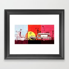 Triptych  Framed Art Print