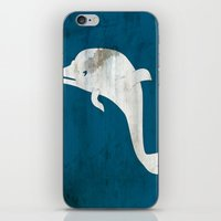 dolphin iPhone & iPod Skins featuring Dolphin by Renato Armignacco