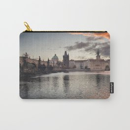 Prague Towers Carry-All Pouch