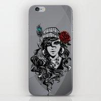 gypsy iPhone & iPod Skins featuring gypsy by Erdogan Ulker