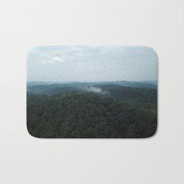 Aerial Photo of Kentucky Mountains Bath Mat