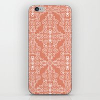 peach iPhone & iPod Skins featuring Peach by katharine stackhouse