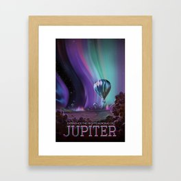 Visions of the Future: The Mighty Jupiter Framed Art Print