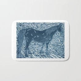 Abstract Silver by Robert S. Lee Bath Mat