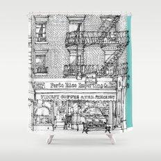 PORTO RICO IMPORT CO, NYC Shower Curtain