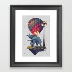 Lfant. Framed Art Print