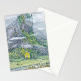 Old man Mountain Stationery Cards