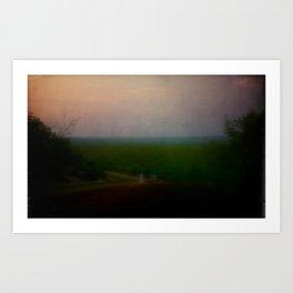 home /3 Art Print