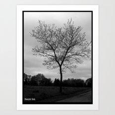 Gloomy Art Print