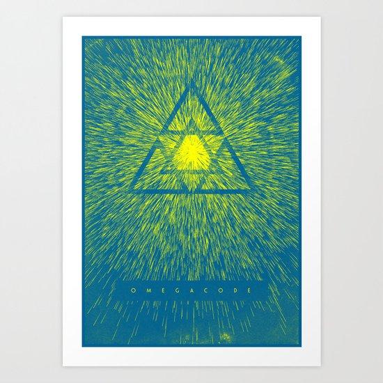 Omega Code - Shine Art Print