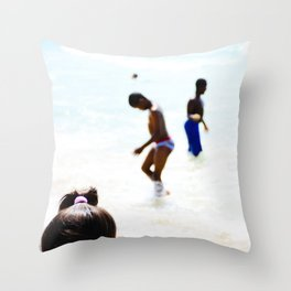 Here and Now No. 2 Throw Pillow