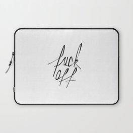 Typography 01 Laptop Sleeve