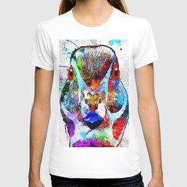 Wood Duck Grunge T-shirt