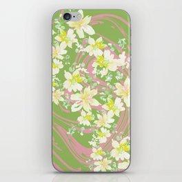 Grace Floral Swirl iPhone Skin