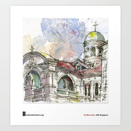 "Tia Boon Sim, ""The Singapore Art Museum"" Art Print"