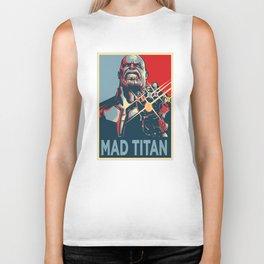 Mad Titan Obey Biker Tank