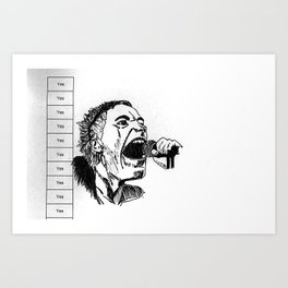 ever get the feeling you've been cheated Art Print