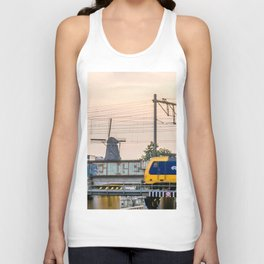 Sunrise Commute Unisex Tank Top