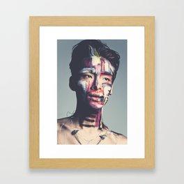Sung Framed Art Print