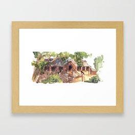 Cranbrook  Framed Art Print
