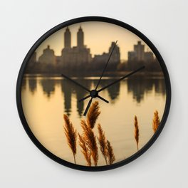Dance Of The Reeds Wall Clock