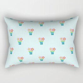 Kawaii Spring lovers pattern Rectangular Pillow