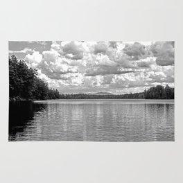 Between Lake and Sky Rug