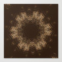 Sequential Baseline Mandala 35 Canvas Print