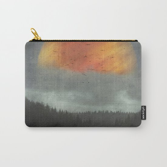 Spaces XVI - Fireball Carry-All Pouch