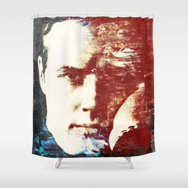 Idols - Marlon Brando Shower Curtain