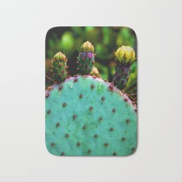 Cactus In The Garden Bath Mat