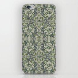 Modern Noveau Floral Pattern iPhone Skin