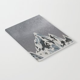 Mountains - Winter Sky Notebook