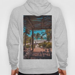 Cabana view of the Beach (Color) Hoody