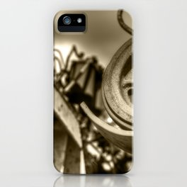 Coffee Combine Cog iPhone Case