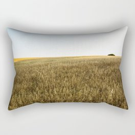 Ocaso en el Campo Rectangular Pillow