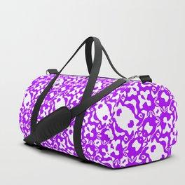 Wavy Purple Pattern 2 Duffle Bag