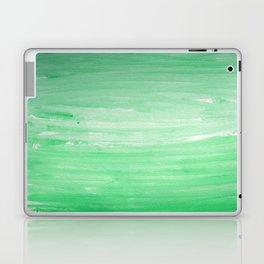 Ombre Green Stripes Laptop & iPad Skin