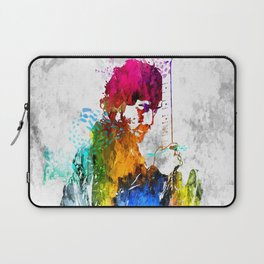 The Boss Bruce S. Grunge Laptop Sleeve