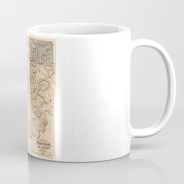 Map of the City of Boston and Vicinity (1907) Coffee Mug