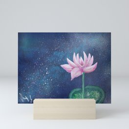 Pink Lotus Mini Art Print
