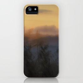 Misty Dusk iPhone Case