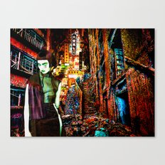 Hungry Ghost Canvas Print