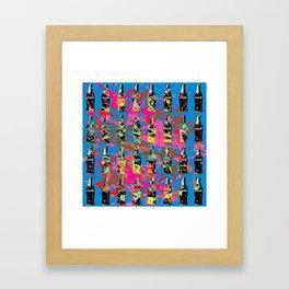 Soda Rhapsody Framed Art Print