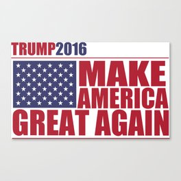 Trump - Make America Great Again Canvas Print