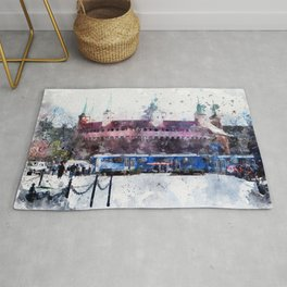 Cracow art 28 #cracow #krakow #city Rug